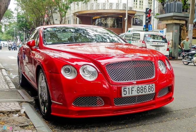 Siêu xe Bentley độ biển đẹp ở Sài Gòn ảnh 1