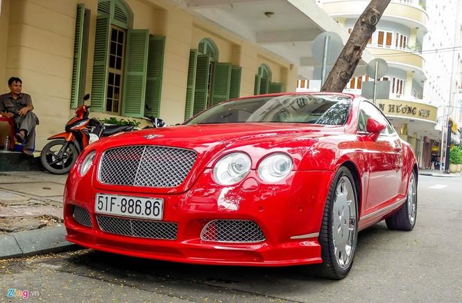 Siêu xe Bentley độ biển đẹp ở Sài Gòn ảnh 2