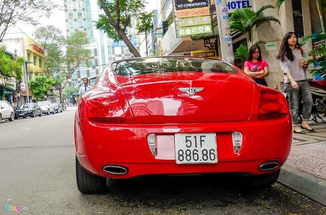 Siêu xe Bentley độ biển đẹp ở Sài Gòn ảnh 3