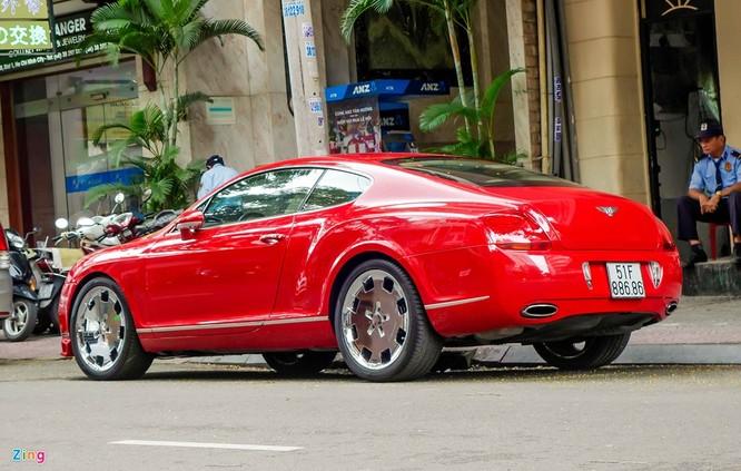 Siêu xe Bentley độ biển đẹp ở Sài Gòn ảnh 4