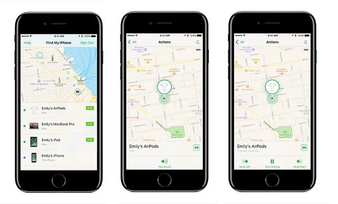 Apple thêm tính năng tìm kiếm AirPods trong iOS 10.3 beta ảnh 1