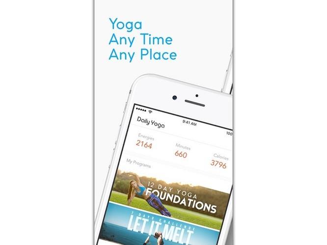 5 ứng dụng tập yoga tốt nhất trên di động ảnh 3