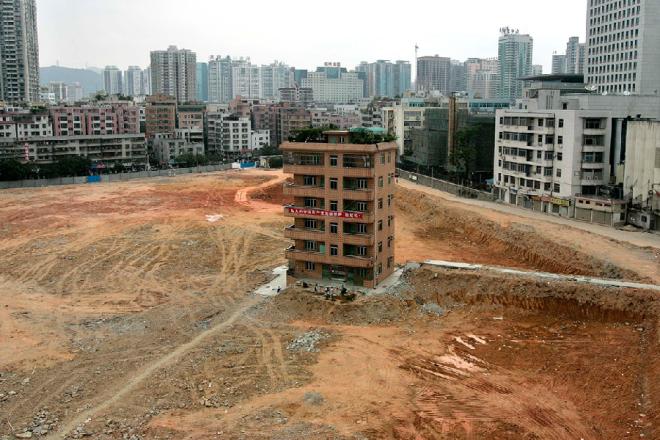 Những ngôi nhà 'cứng đầu' nhất tại Trung Quốc
