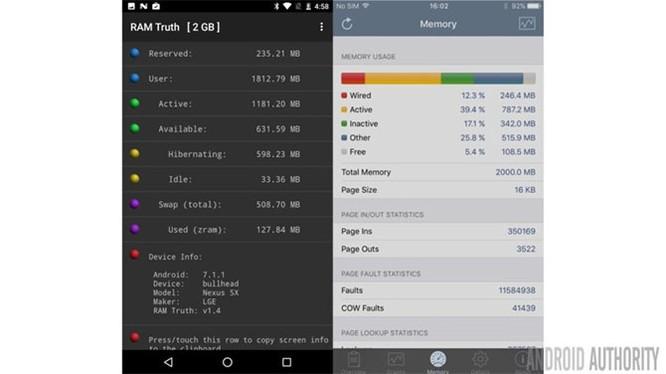Có thật Android tốn RAM hơn iOS? ảnh 2