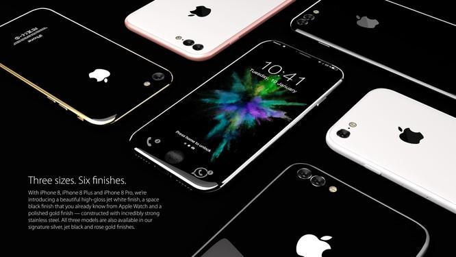 Bộ ảnh dựng tái hiện toàn bộ tính năng rò rỉ của iPhone 8 ảnh 4