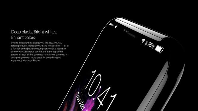 Bộ ảnh dựng tái hiện toàn bộ tính năng rò rỉ của iPhone 8 ảnh 2