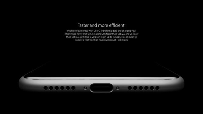 Bộ ảnh dựng tái hiện toàn bộ tính năng rò rỉ của iPhone 8 ảnh 5