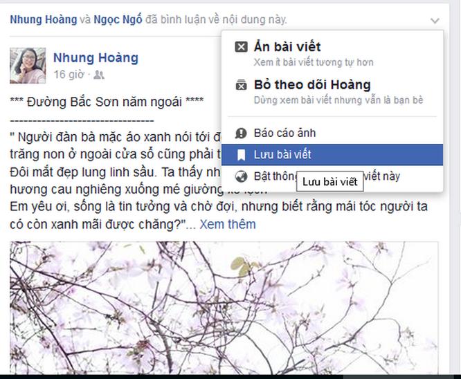 17 tính năng thú vị của Facebook có thể bạn chưa biết ảnh 8