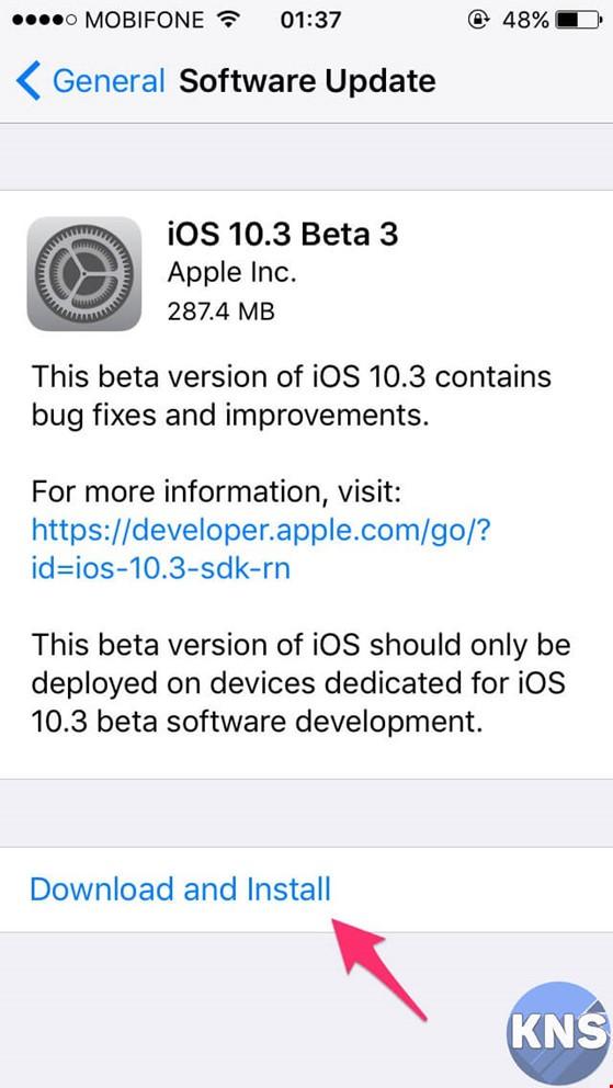 iOS 10.3 Beta 3 có gì mới? ảnh 1