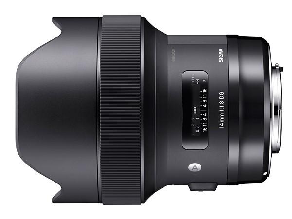 Sigma ra mắt 3 ống kính thuộc dòng Art và 1 ống kính zoom tele ảnh 5