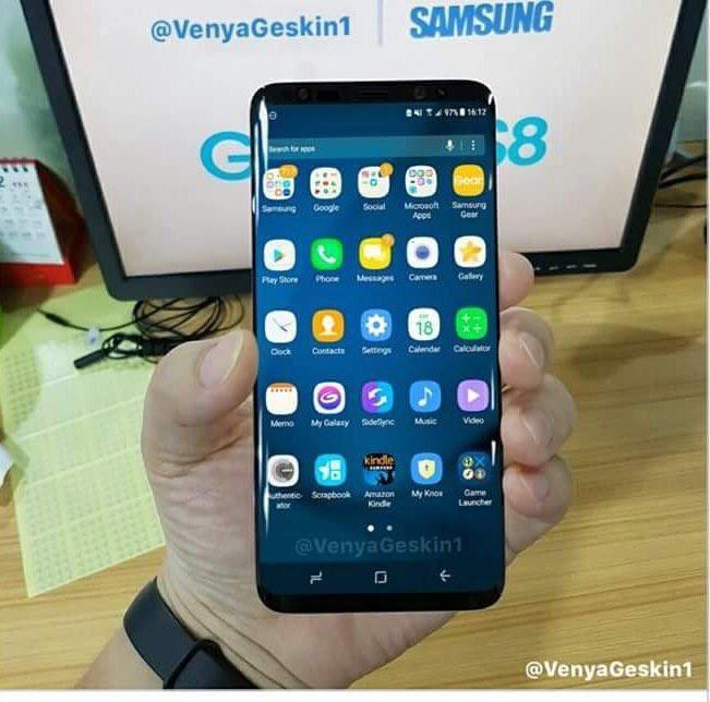 Bản thiết kế Galaxy S8 với màn hình Infinity Display ảnh 3