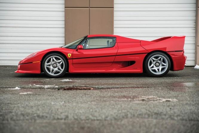 Siêu xe hiếm Ferrari F50 của Mike Tyson được rao bán ảnh 4