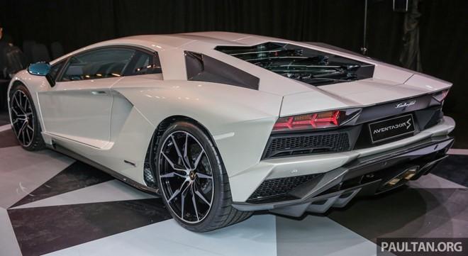 Lamborghini Aventador S ra mắt thị trường Đông Nam Á ảnh 1