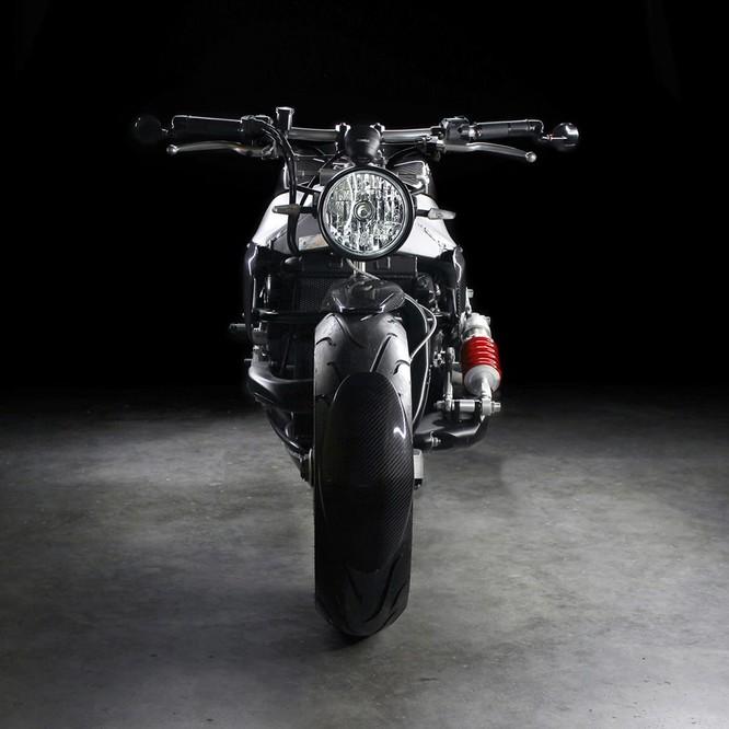 Siêu môtô Yamaha YZF-R1 độ cực dị của Lazareth ảnh 6