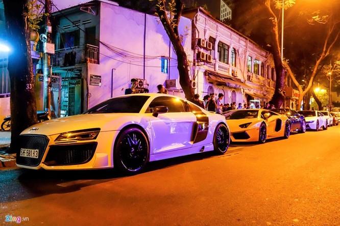 Đại gia Sài Gòn chào đón Gialai Team bằng dàn siêu xe ảnh 8