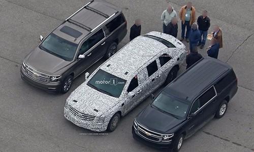 Limousine bọc thép của Donald Trump lộ diện ảnh 1