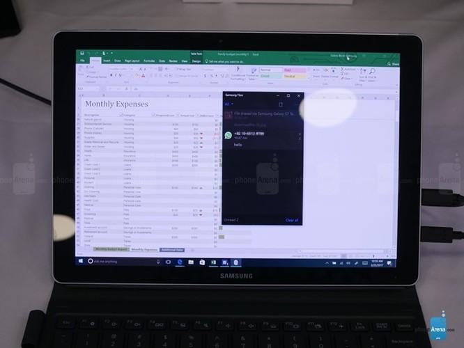 Trải nghiệm sức mạnh của desktop trong thiết bị di động Samsung Galaxy Book ảnh 3
