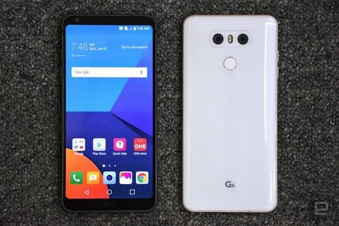 LG G6 giá 800 USD, Xperia XZs giá 700 USD ảnh 1