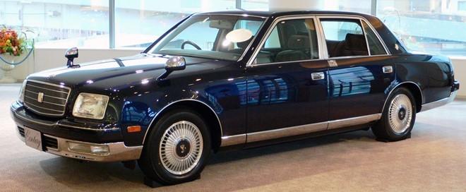 Toyota Century Royal - xe chống đạn cho Hoàng gia Nhật ảnh 1