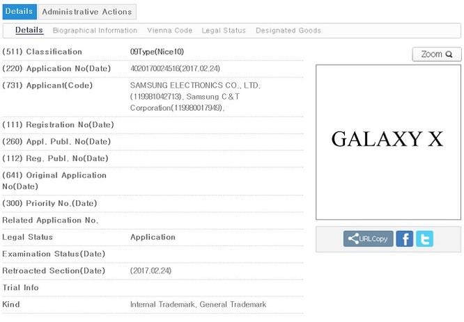 Lộ chi tiết smartphone màn hình gập Samsung Galaxy X ảnh 1