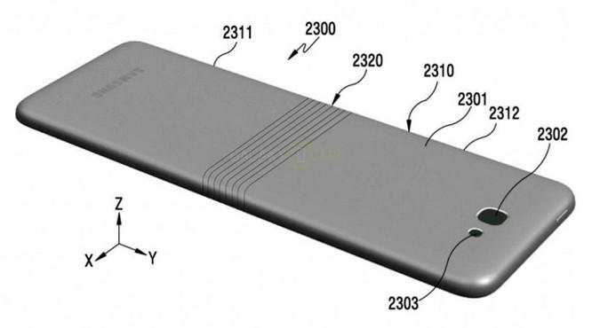 Lộ chi tiết smartphone màn hình gập Samsung Galaxy X ảnh 3