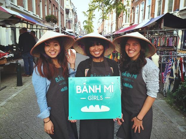 """Cô gái Việt đưa bánh mì """"hương vị nước mắm"""" gây sốt tại Hà Lan ảnh 2"""