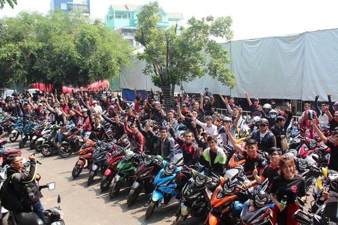 1.000 biker và 300 mẫu độ WINNER hội tụ ảnh 5