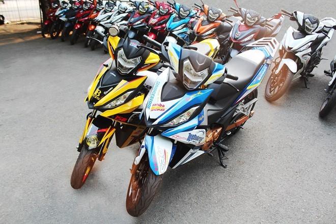 1.000 biker và 300 mẫu độ WINNER hội tụ ảnh 6