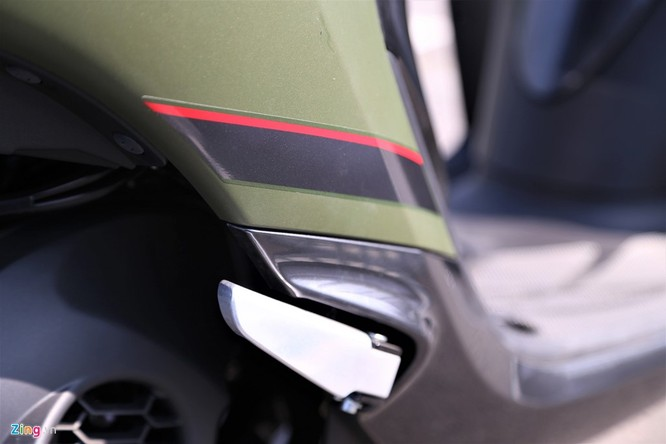 Yamaha Janus bản màu xanh quân đội giá 32 triệu tại Việt Nam ảnh 11