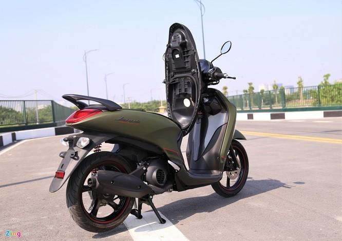 Yamaha Janus bản màu xanh quân đội giá 32 triệu tại Việt Nam ảnh 12