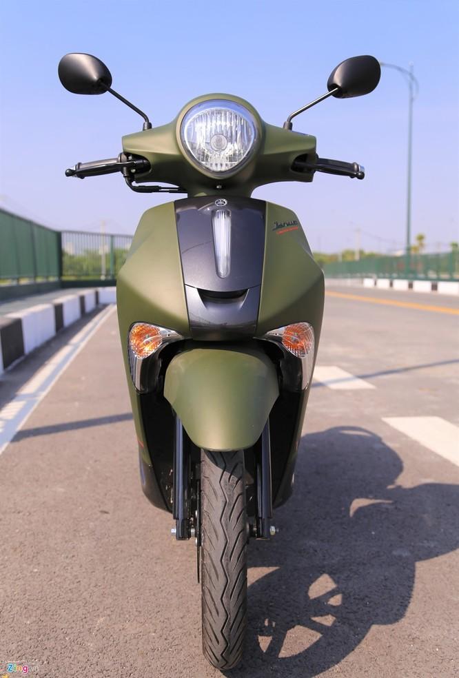 Yamaha Janus bản màu xanh quân đội giá 32 triệu tại Việt Nam ảnh 1