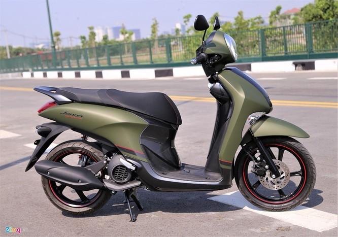 Yamaha Janus bản màu xanh quân đội giá 32 triệu tại Việt Nam ảnh 2