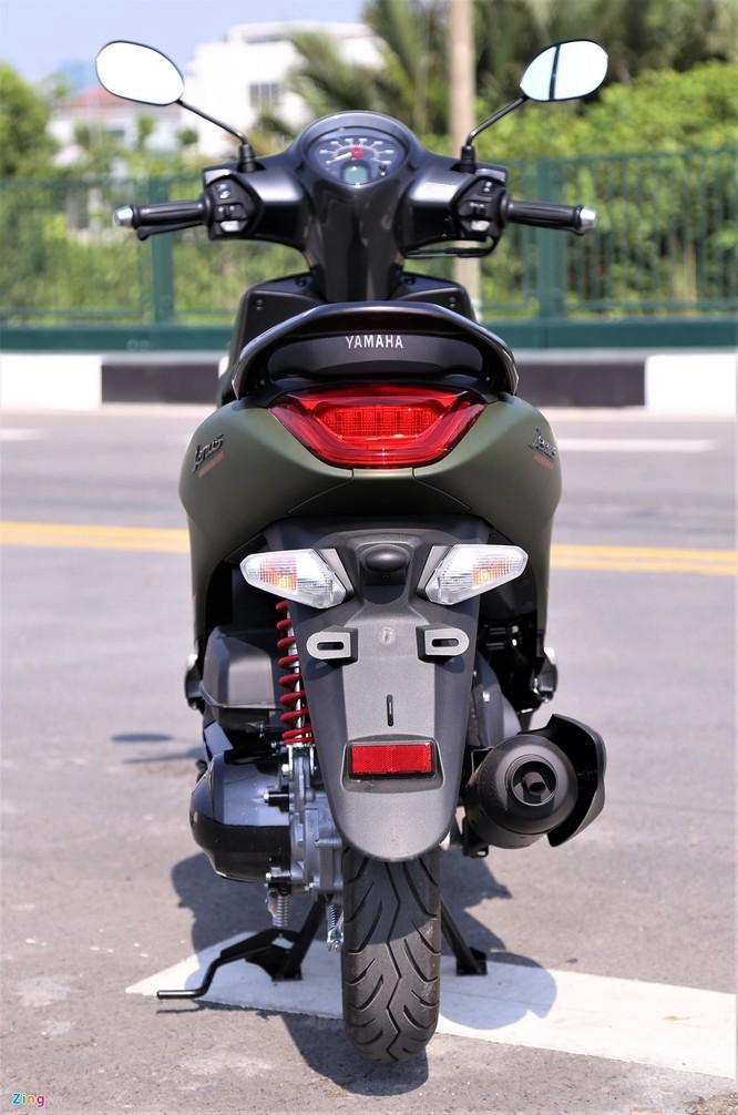 Yamaha Janus bản màu xanh quân đội giá 32 triệu tại Việt Nam ảnh 3