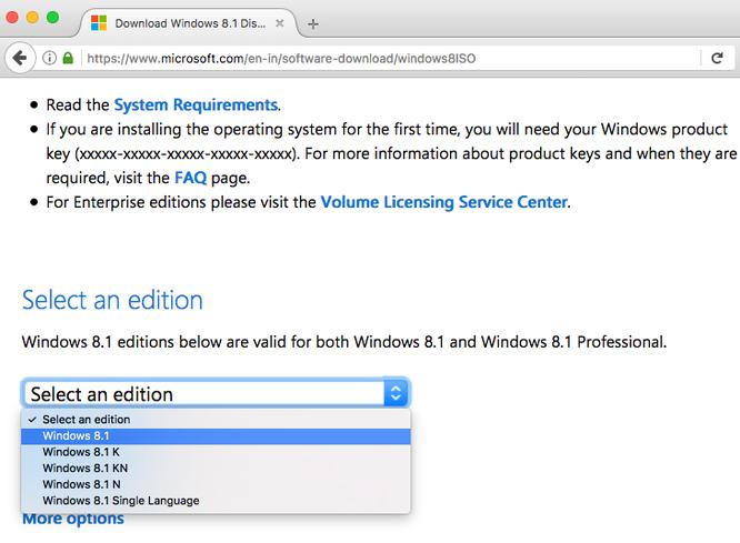 Cách tải file ISO Windows 10 và 8.1 chính thức từ Microsoft ảnh 3