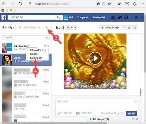 3 cách phục hồi tin nhắn đã xóa trên Facebook dễ hơn ăn cháo ảnh 3