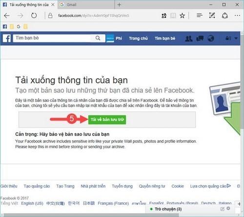 3 cách phục hồi tin nhắn đã xóa trên Facebook dễ hơn ăn cháo ảnh 5