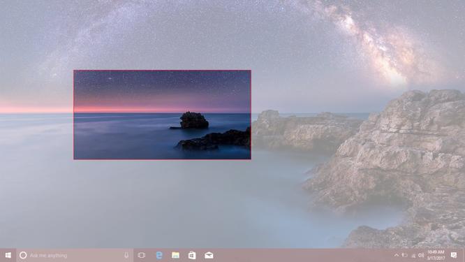 Đã có phím tắt chụp màn hình theo vùng chọn cho Windows 10 ảnh 2