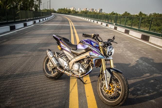 Yamaha FZ150i độ của biker Sài Gòn ảnh 1