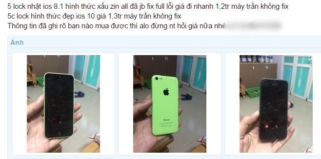 iPhone 5C lock giá 1,2 triệu đồng tràn về Việt Nam ảnh 1
