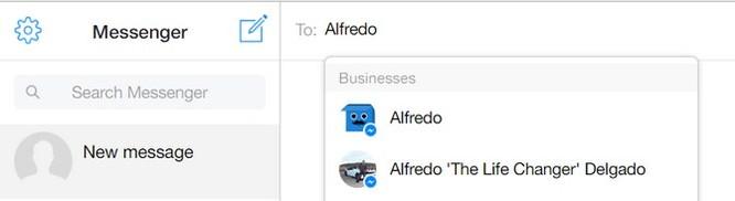 Cách tải file lên Dropbox ngay từ Facebook Messenger ảnh 1