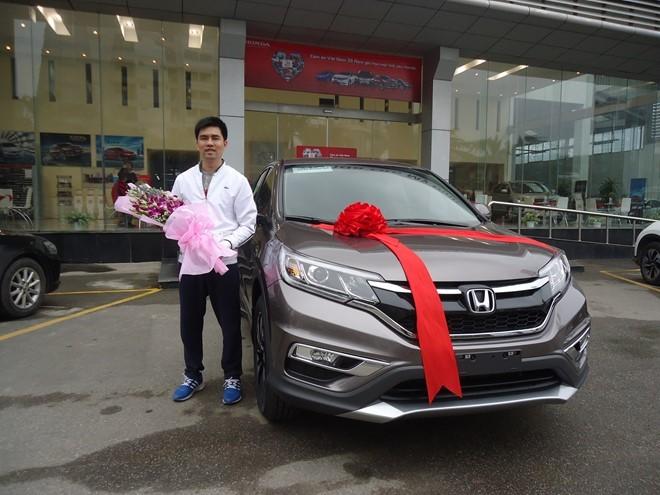 Honda CR-V - mẫu xe bán chạy nhất thế giới 4 năm liên tiếp ảnh 1
