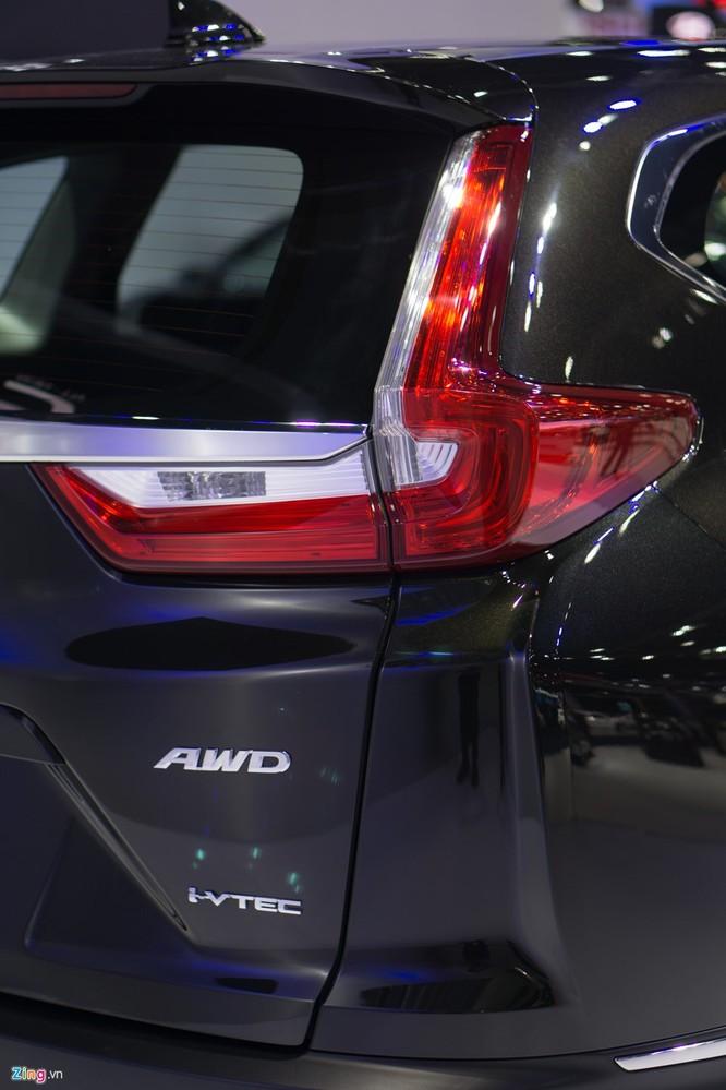 Ảnh thực tế Honda CR-V 7 chỗ vừa ra mắt ảnh 4