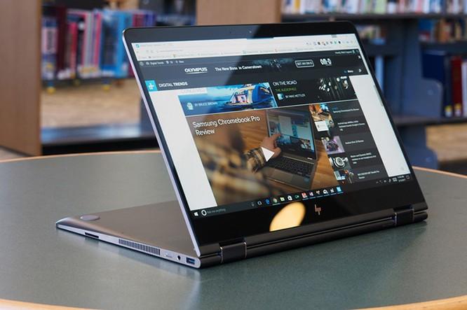 Đánh giá HP Spectre x360 15-inch (2017) - laptop 2 trong 1 có thiết kế đẹp, pin lâu ảnh 4