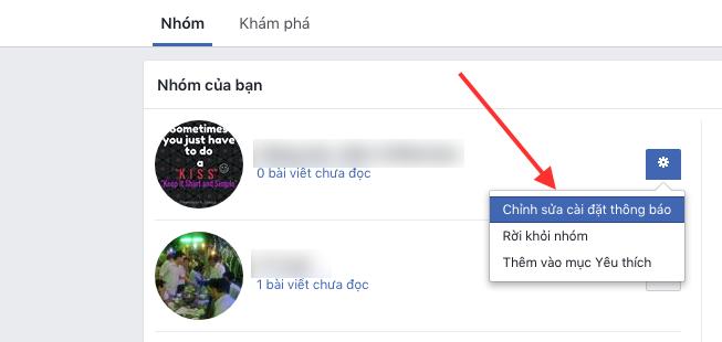 """Cách """"diệt tận gốc"""" thông báo phiền phức từ các Nhóm trên Facebook ảnh 8"""