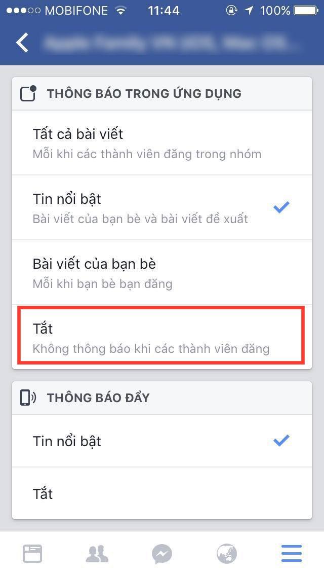 """Cách """"diệt tận gốc"""" thông báo phiền phức từ các Nhóm trên Facebook ảnh 5"""