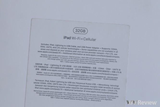 Trên tay iPad 9.7 2017 mới về Việt Nam, giá từ 9,75 triệu đồng ảnh 2