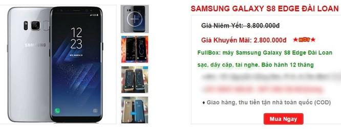 Xịn chưa bán, Galaxy S8 nhái đã tung hoành thị trường, giá khoảng 3 triệu đồng ảnh 2