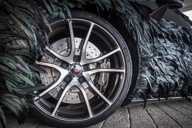 Siêu xe McLaren 570GT thân phủ lông vũ ảnh 5