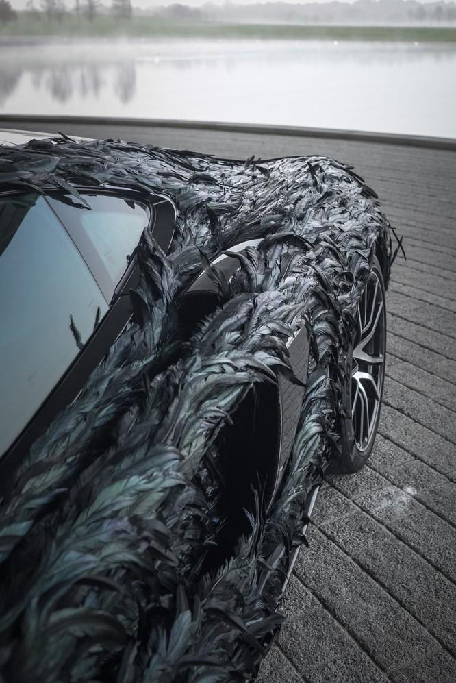 Siêu xe McLaren 570GT thân phủ lông vũ ảnh 4