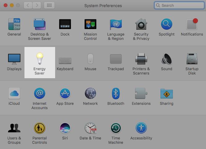 Hướng dẫn hẹn giờ tắt máy trên macOS ảnh 1